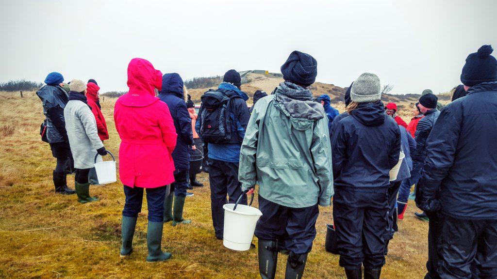 Så er vi samlet, og klar til start!; Fanø østers indlæg