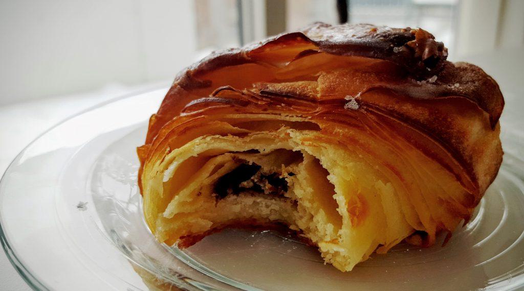 Chokolade croissant fra Briancon; Det bedste chokolade croissant i Aarhus indlæg