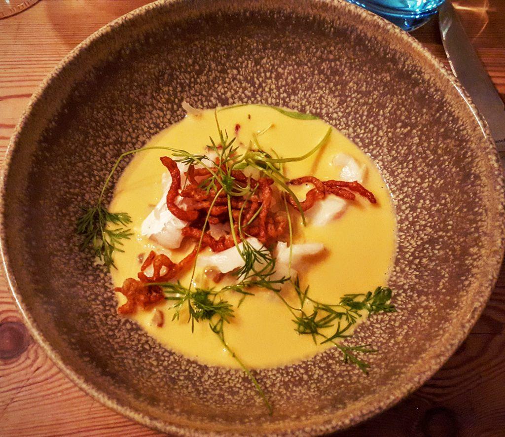 LÆSØHUMMER & FISK FRA VESTERHAVET; Smag På Byen Aarhus 2016 ved Restaurant Skovmøllen indlæg